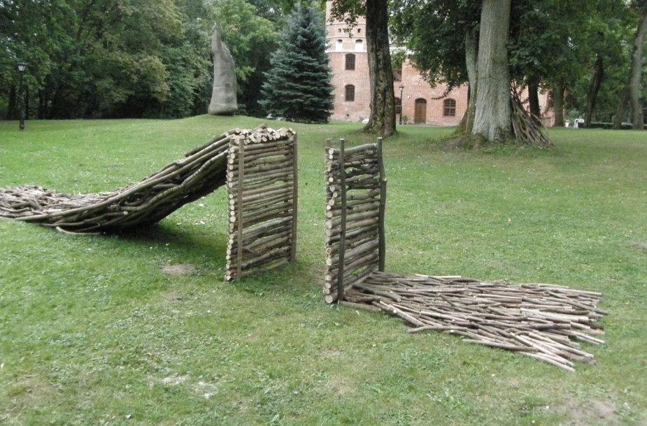"Raudondvaryje baigėsi žemės meno festivalis ""Land Art"""