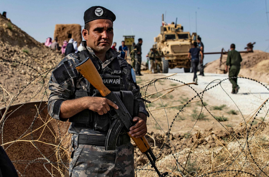 Kurdų pajėgos Sirijos šiaurėje