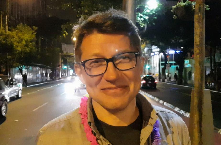 Darius Vaičiulis Limoje, Peru