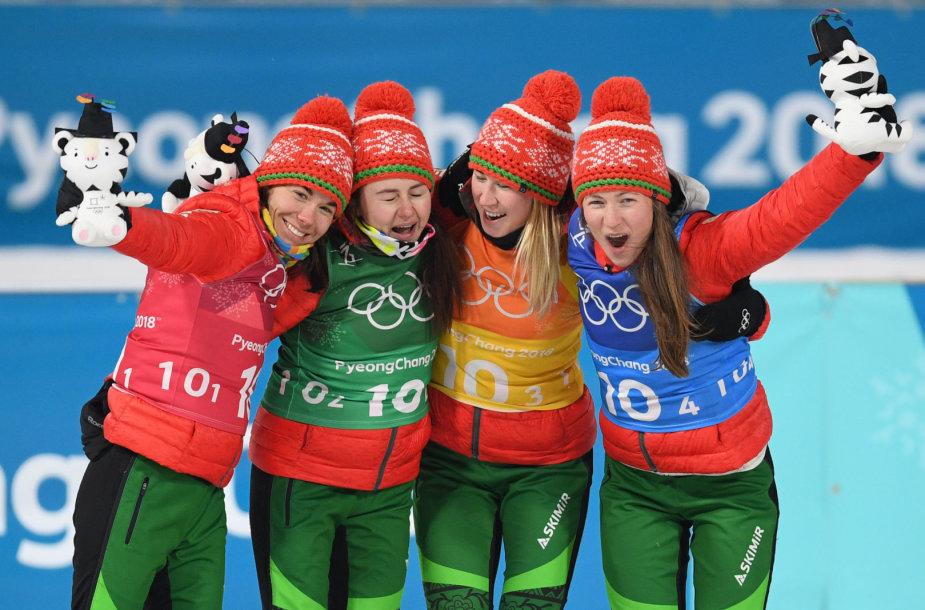 Baltarusijos moterų biatlono rinktinė