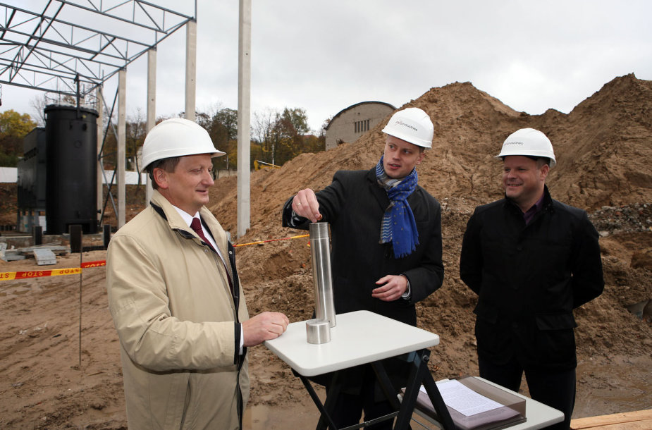 Kaune statoma biokuro katilinė