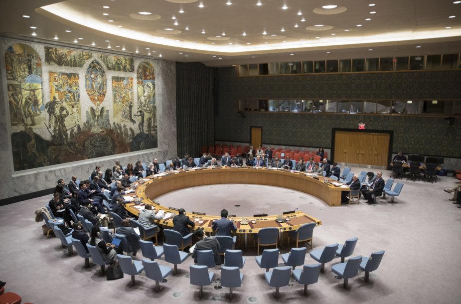 Jungtinių Tautų Saugumo Tarybos posėdis