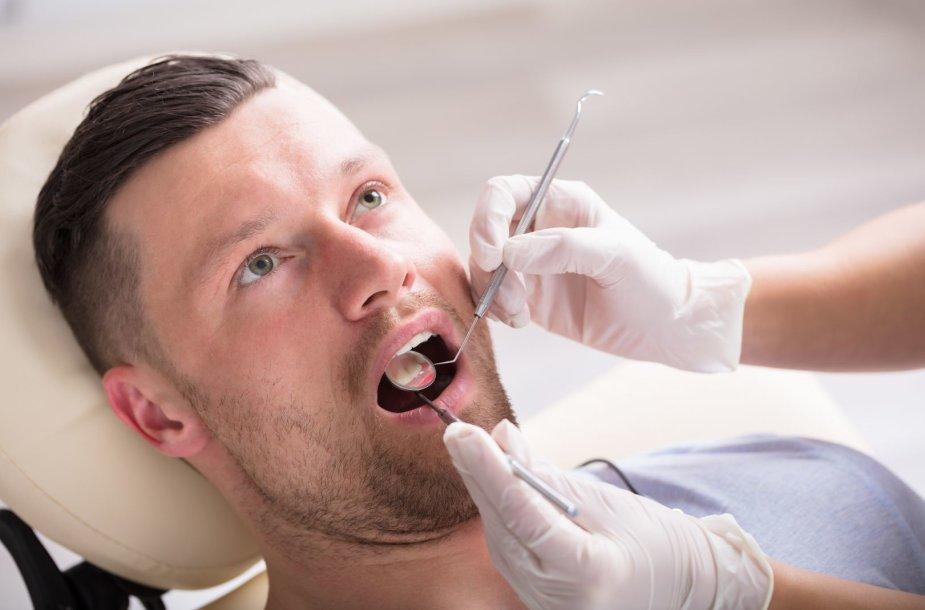 Vizitas pas odontologą