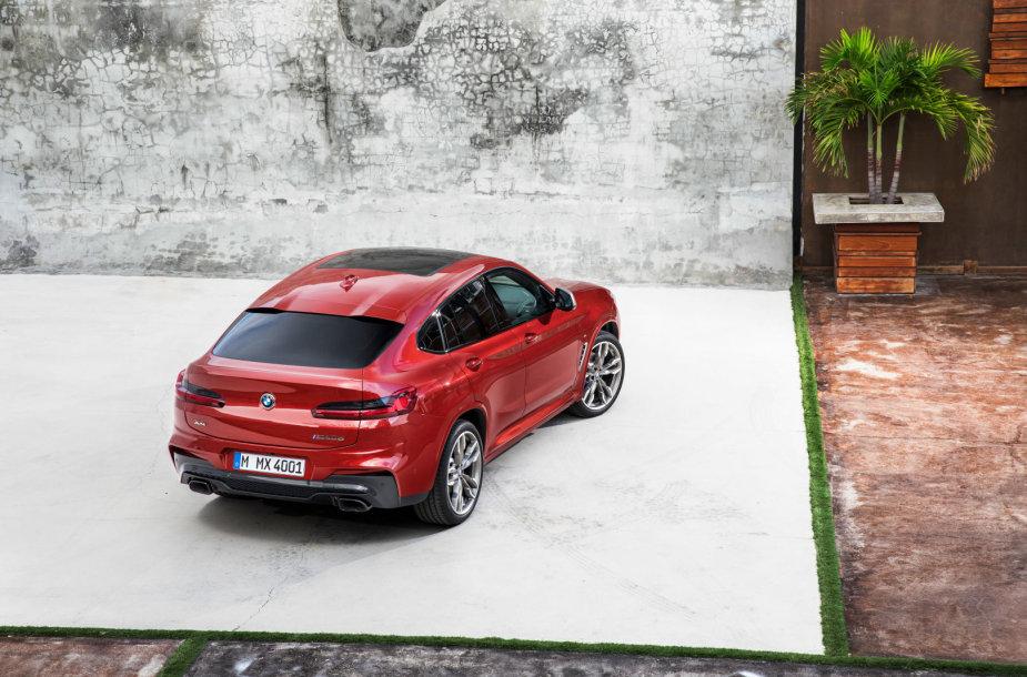 Atnaujintas BMW X4