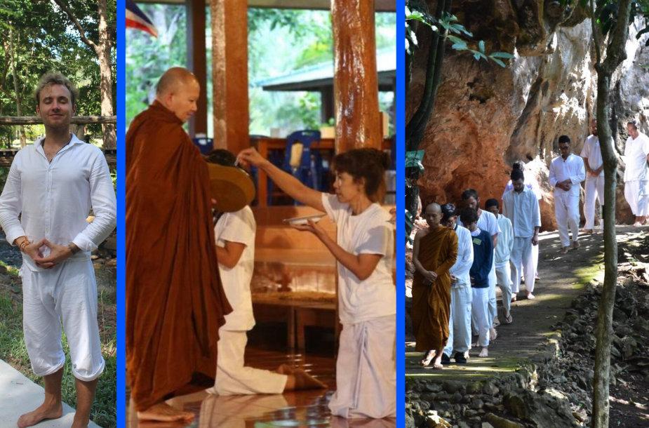 Lucky Olego įspūdžiai iš gyvenimo Tailando vienuolyne