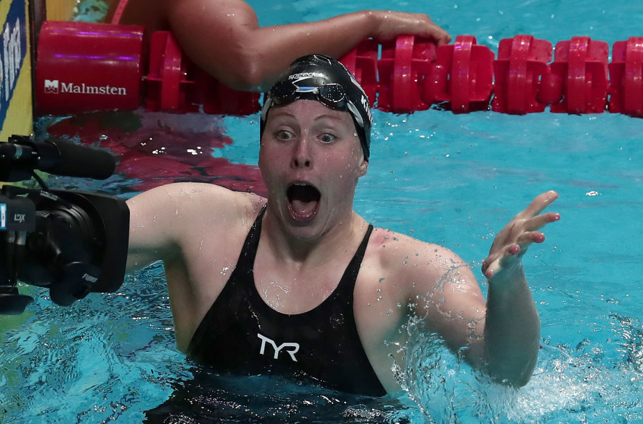 Pasaulio čempione tapo Lilly King