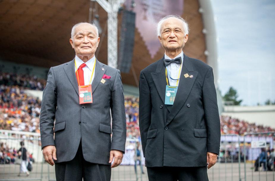 Takeši Ueda ir Takuži Jasumoto
