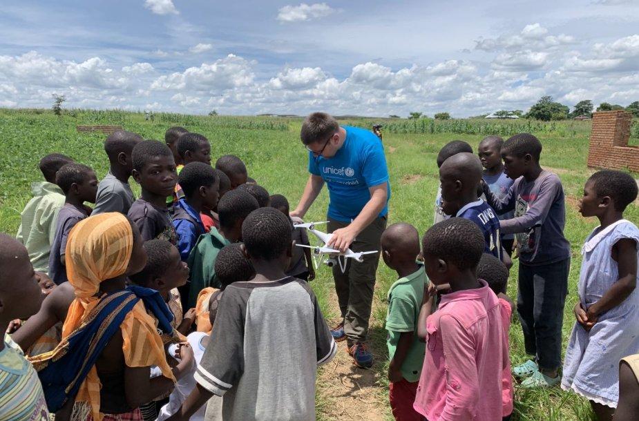 Tautvydo Juškausko UNICEF misija Malavyje