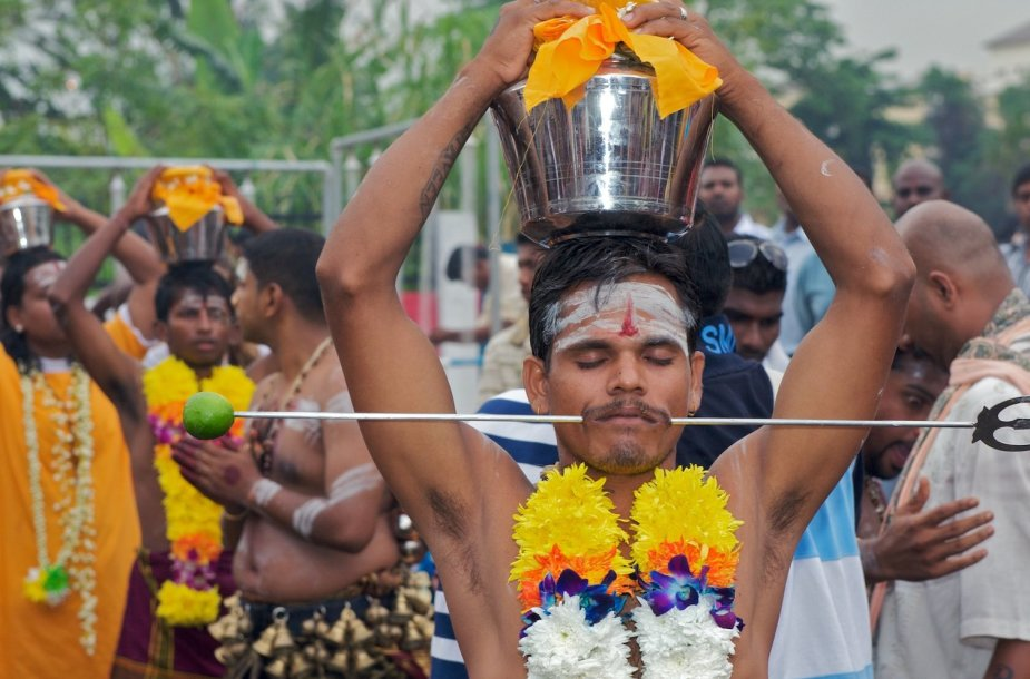 Thaipusam festivalis Indijoje