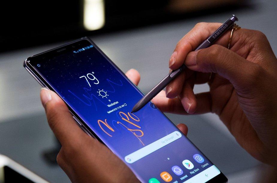 """""""Samsung Galaxy Note 8"""" išmanusis telefonas"""