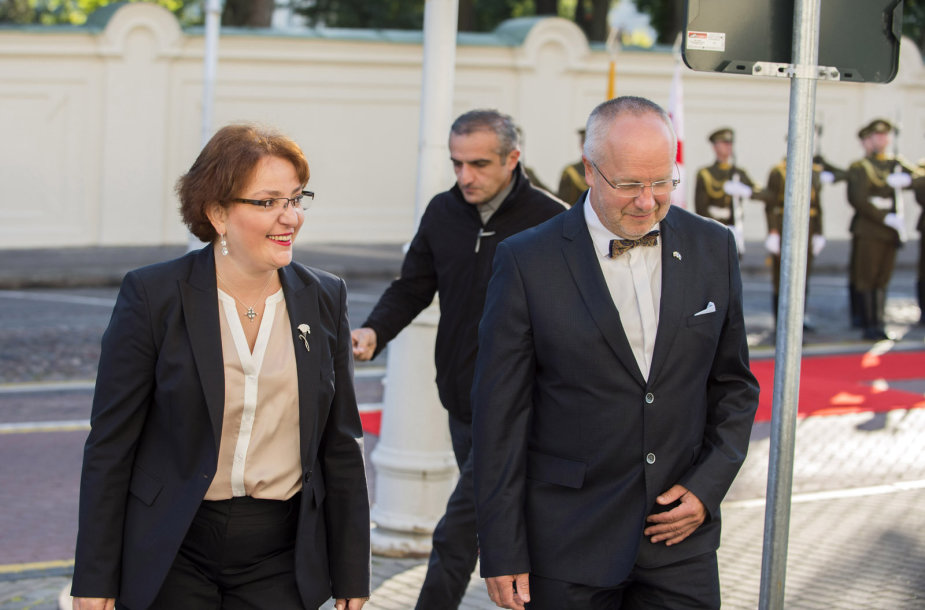 Gruzijos gynybos ministrės Tinatin Khidašeli vizitas Vilniuje