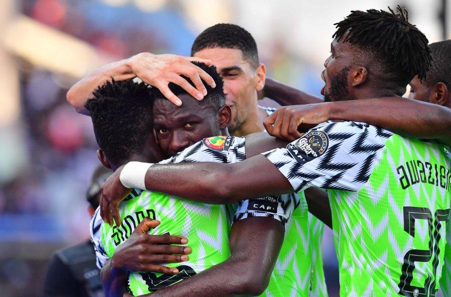 Nigerijos futbolininkai