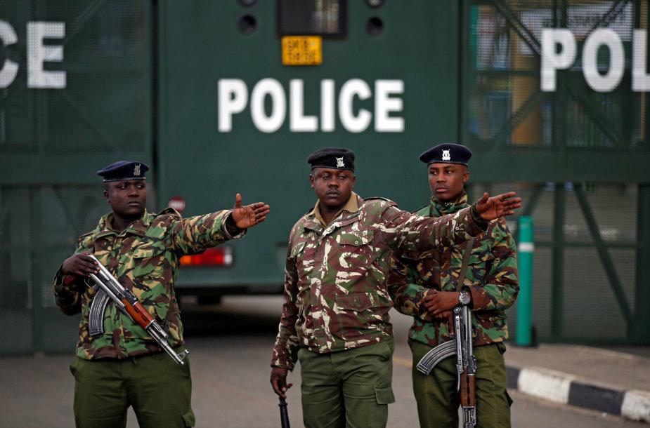 Kenijos policija