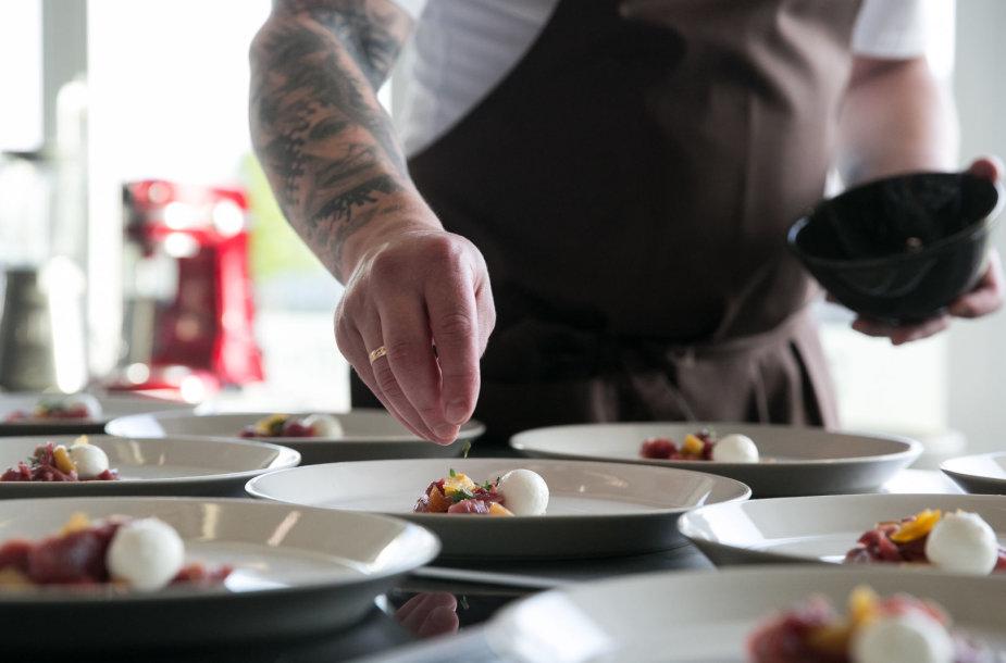 Latvijos virtuvės pristatymo renginys