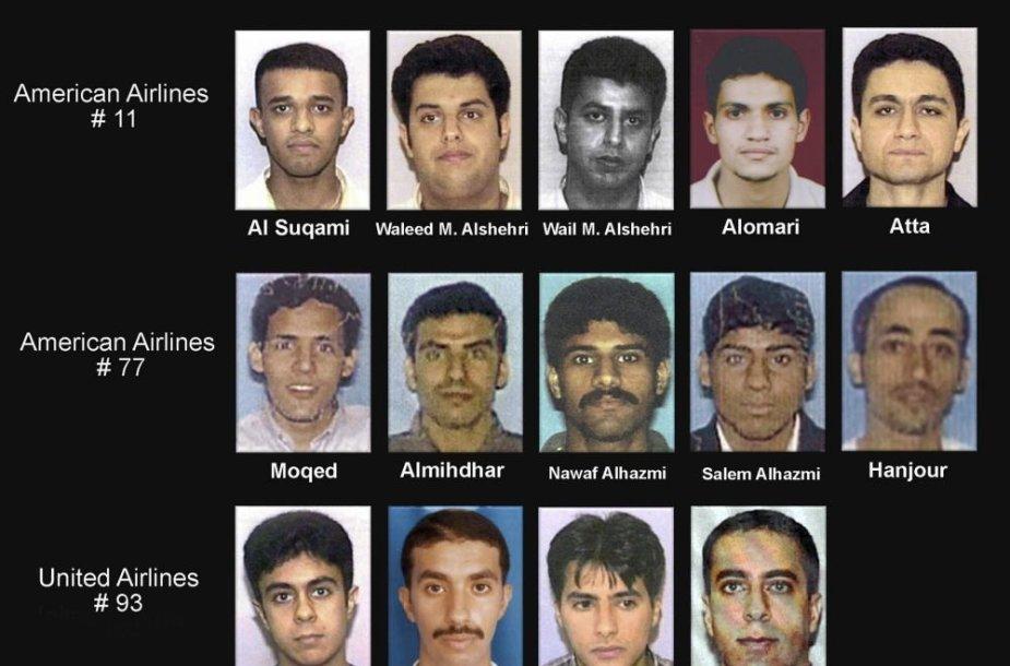 Rugsėjo 11-osios išpuolio dalyviai