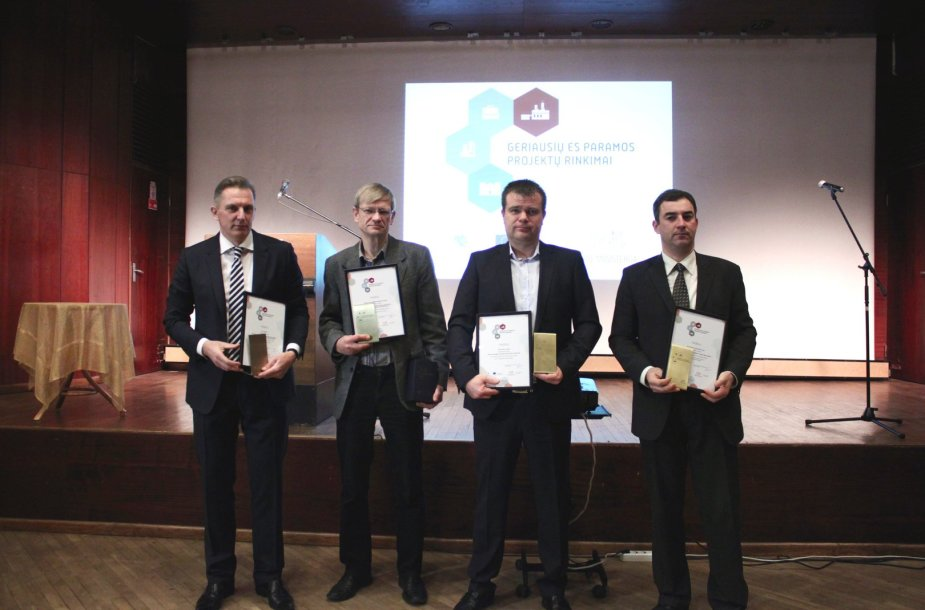 Apdovanoti geriausieji Panevėžio regione. Giedrės Nalivaikaitės nuotr.