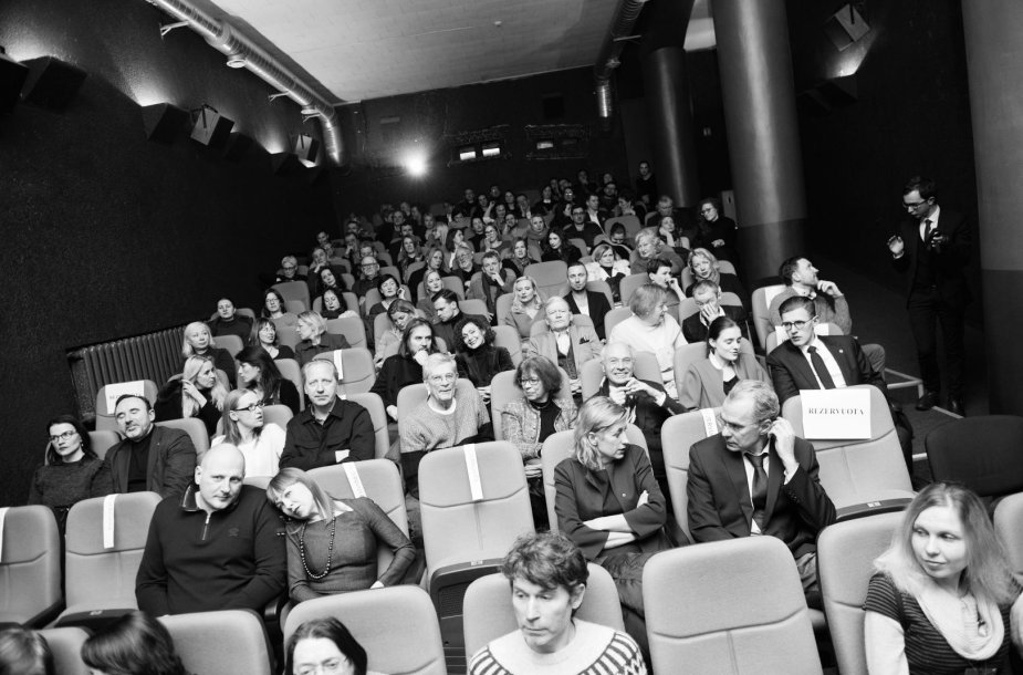 """Akimirkos iš prancūzų kino festivalio """"Žiemos ekranai"""" atidarymo"""