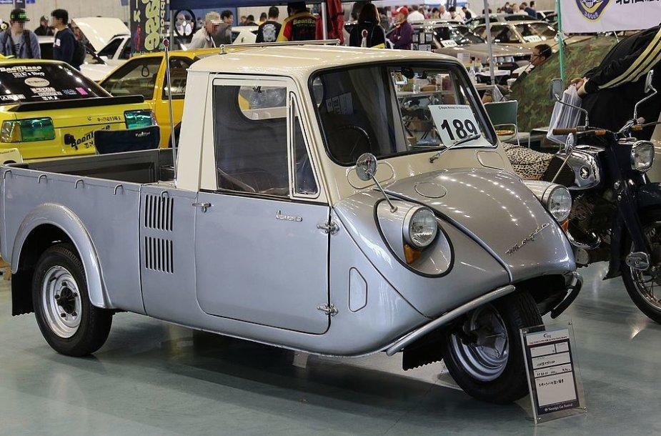 1960-aisiais Mazdago pakeitė aptakesnis K360, atitinkantis kei klasės reikalavimus. (TTTNIS, Wikimedia)