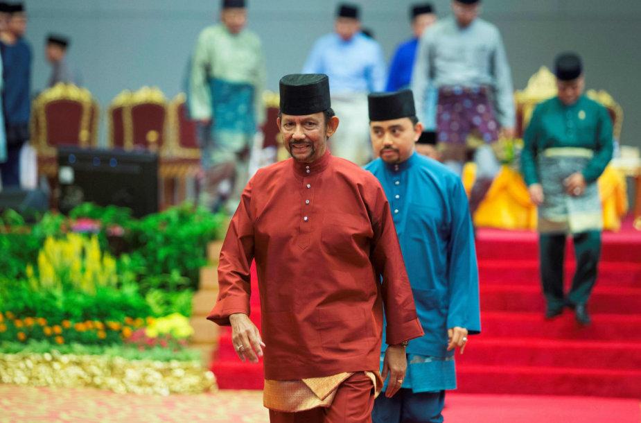Brunėjaus sultonas Hassanalas Bolkiah