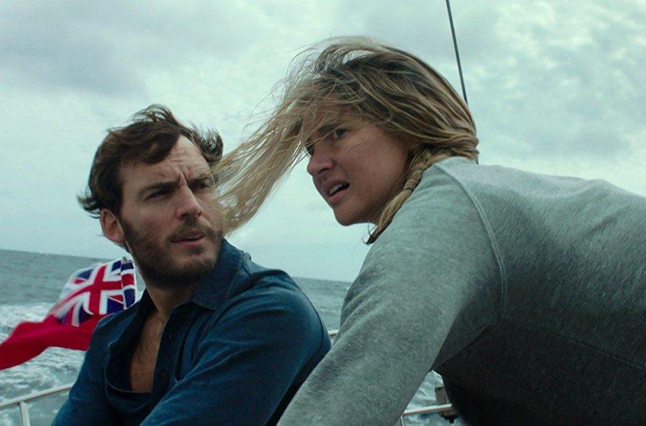 """Samas Claflinas ir Shailene Woodley filme """"Kol dar neatėjo audra"""""""
