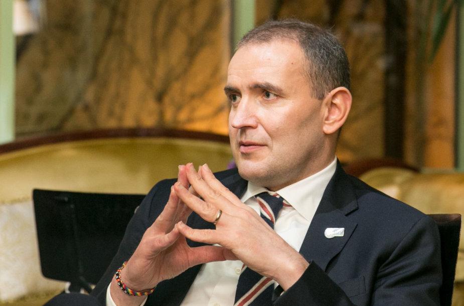 Islandijos Prezidentas Gudnis Thorlacius Johannessonas