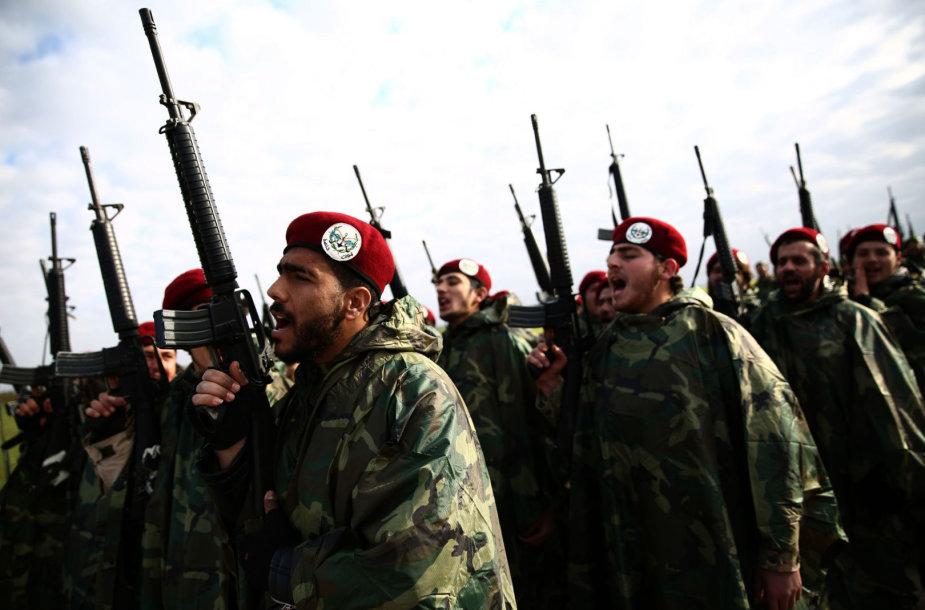 """Nureddine al Zinki"" kovotojai"