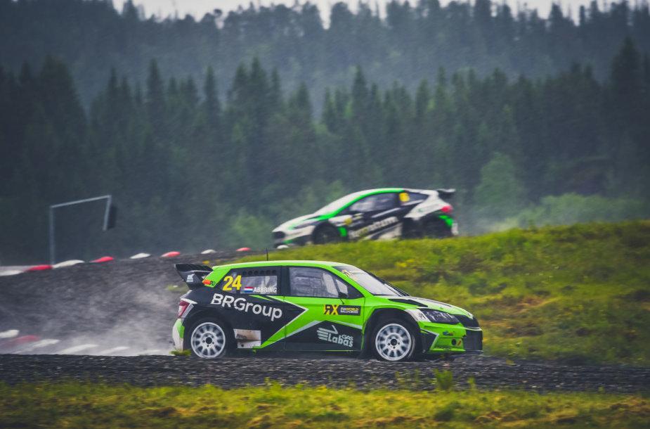 """Pasaulio ralio kroso čempionato etapas Norvegijoje, """"ESmotorsport"""" pateko į finaą"""