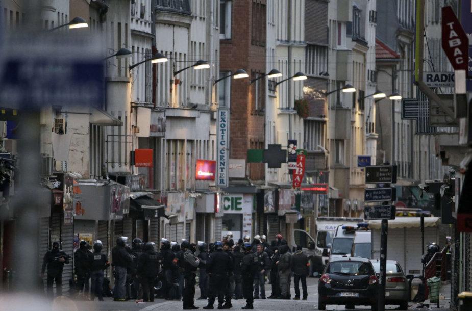 Paryžius po teroro išpuolio