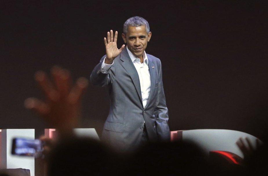 Buvęs JAV prezidentas Barackas Obama
