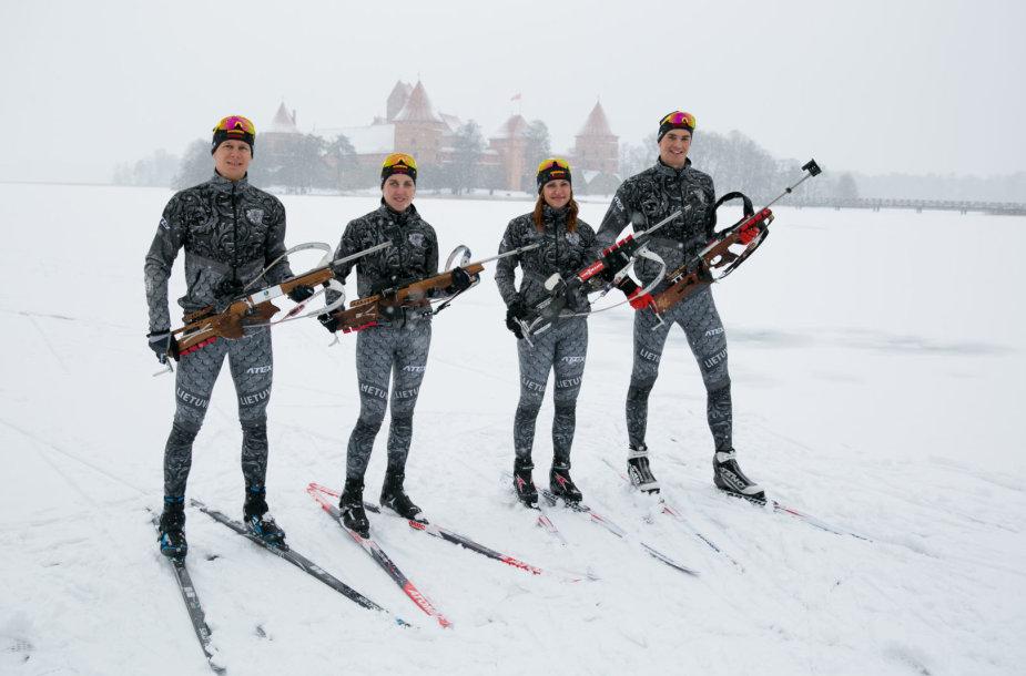 Biatlono rinktinė