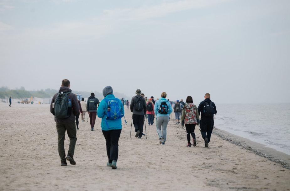 Pėsčiųjų žygis Liepojoje