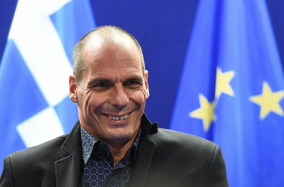 Graikijos ministras Yanis Varoufakis