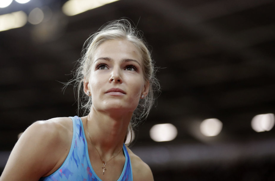 Darja Klišina 2017 metų pasaulio čempionate laimėjo sidabrą.