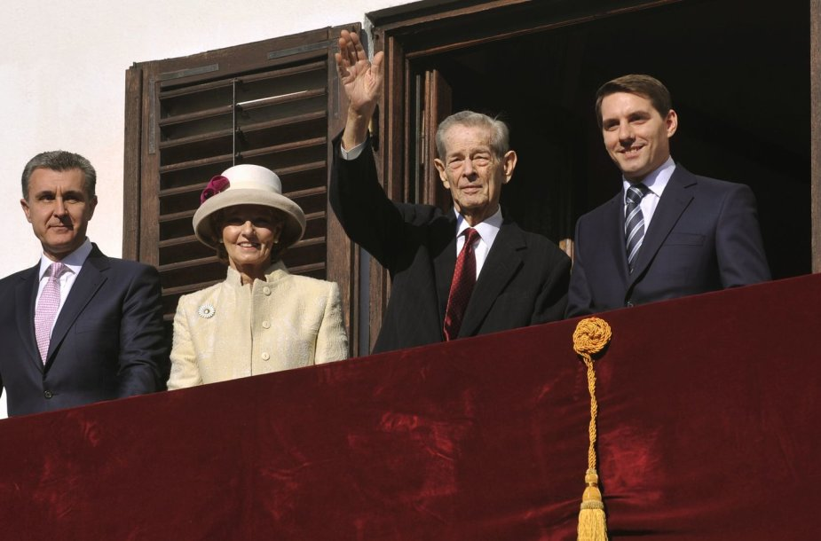 Buvęs Rumunijos karalius Mihai I (Michaelis I)