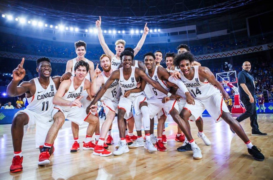 Kanados 19-mečių krepšinio rinktinė