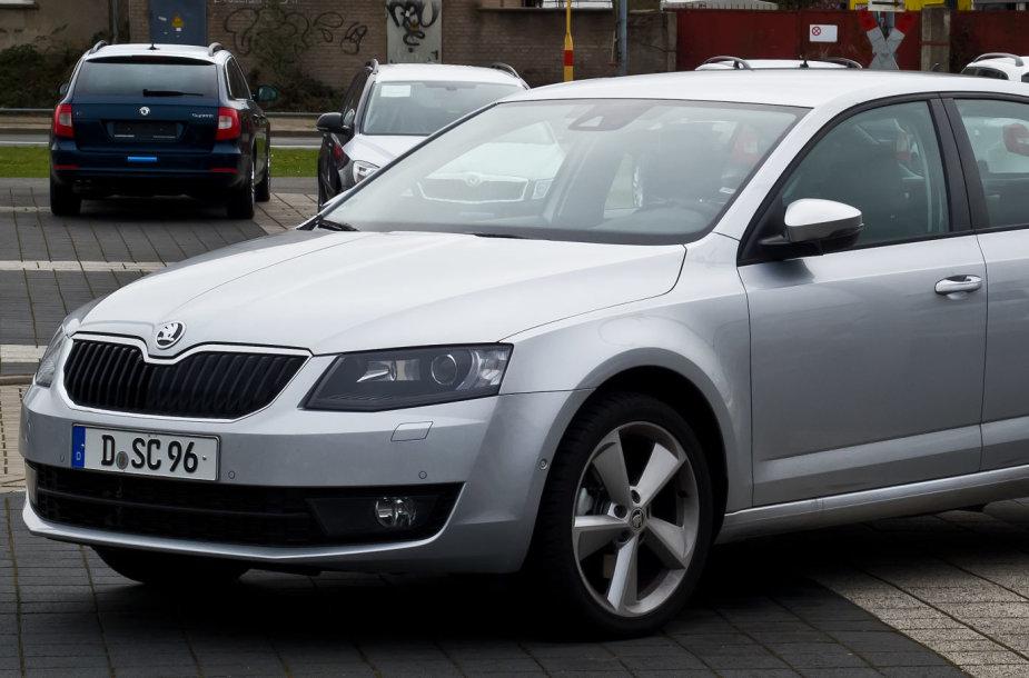 """""""Škoda Octavia"""" (nuo 2013 m.)"""
