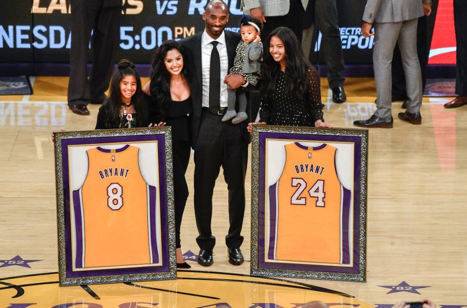 Kobe Bryanto pagerbimas