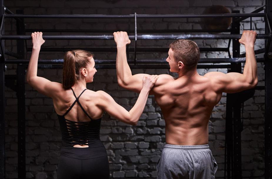 Sportuojanti pora