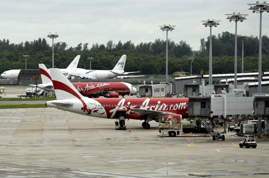 """AirAsia"" lėktuvai"