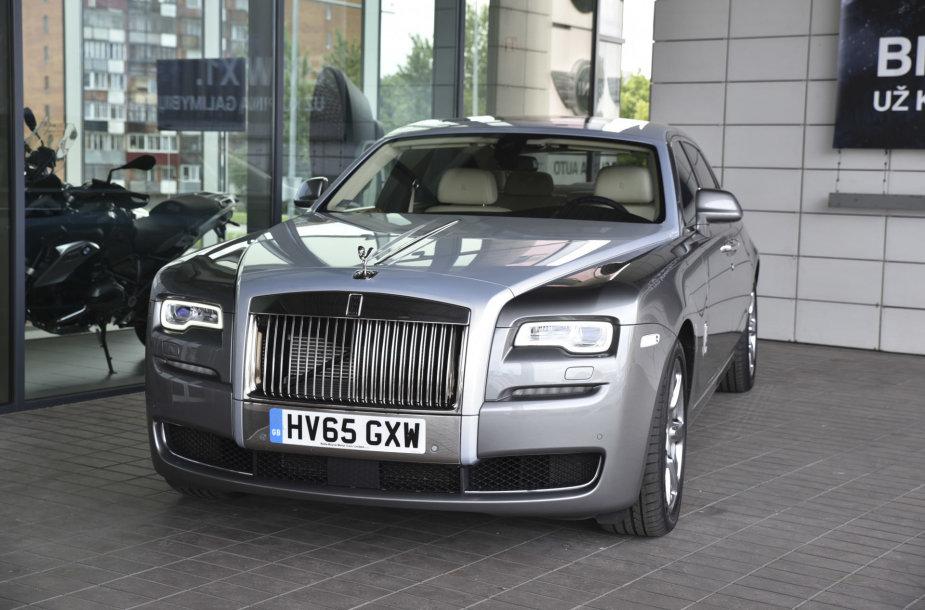 "Vilniuje atidarytas ""Rolls-Royce"" servisas"