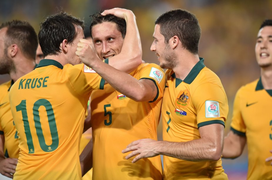 Australijos futbolininkai