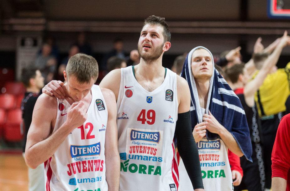 Maksym Korniienko ir Mindaugas Kupšas
