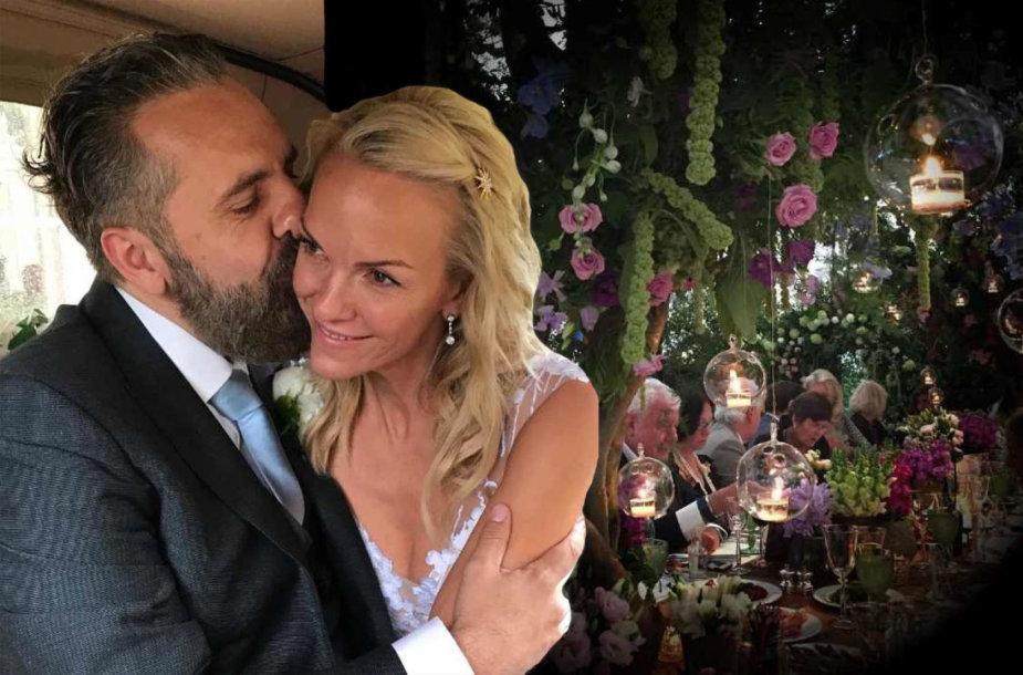Elisabeth Murdoch ir Keitho Tysono vestuvės