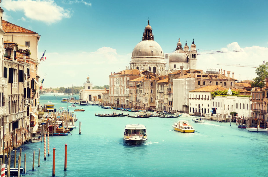 Turistų numylėta Venecija