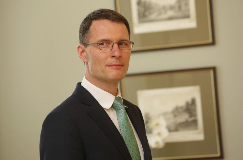 Elvinas Jankevičius susitinka su šalies vadove