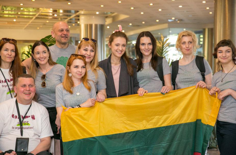 """""""Draugystė veža"""" komandos susitikimas su Ieva Zasimauskaite"""