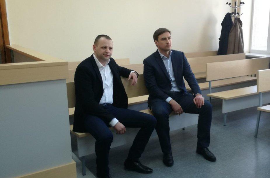 G.Zumaras ir G.Kamkalovas (dešinėje)