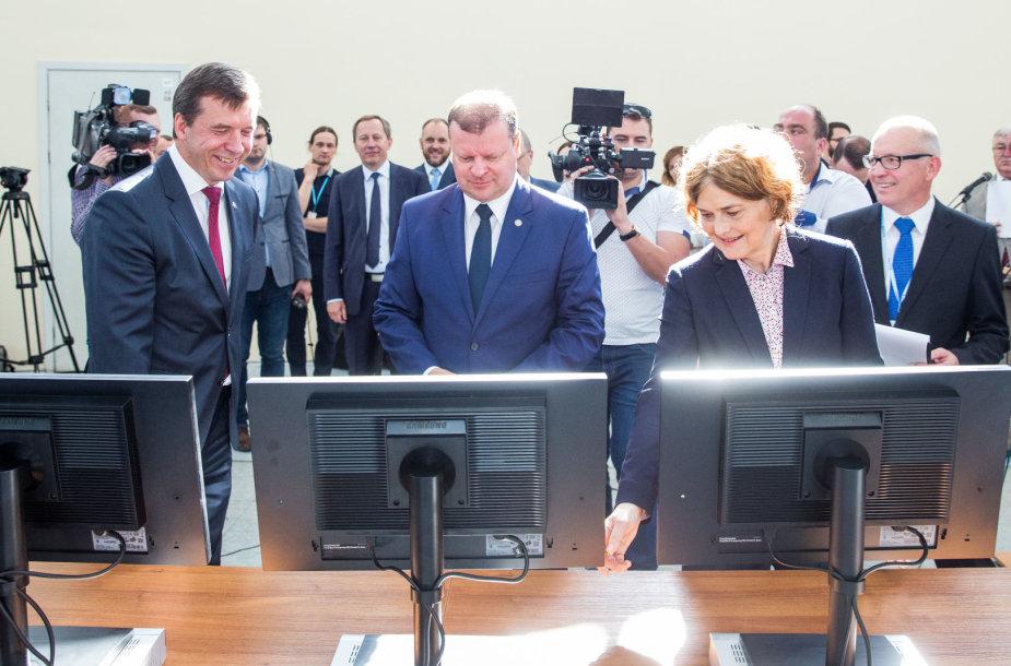 Remigijus Šeris, Saulius Skvernelis, Urszula Doroszewska