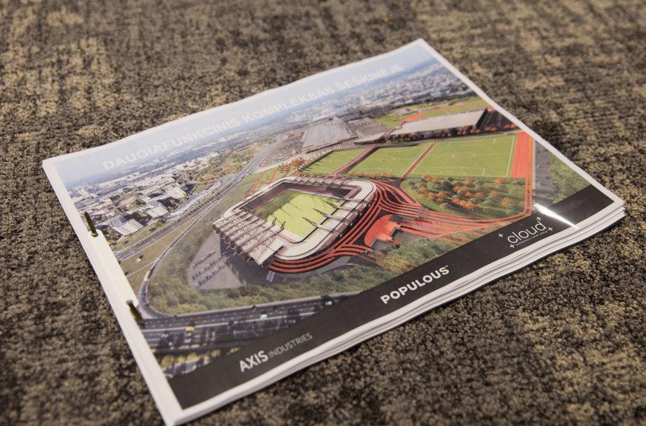 Vilniaus Nacionalinio stadiono pristatymas