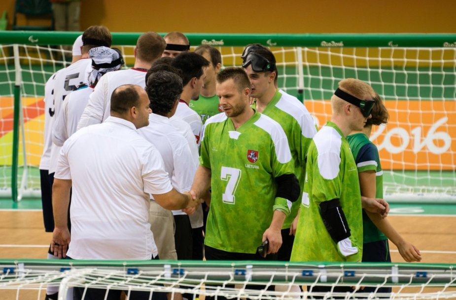 Golbolas Lietuva – JAV